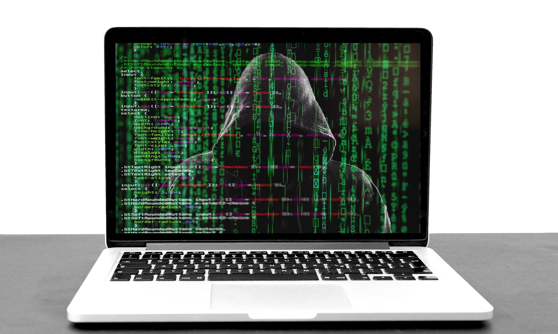 cyber attack on a macbook